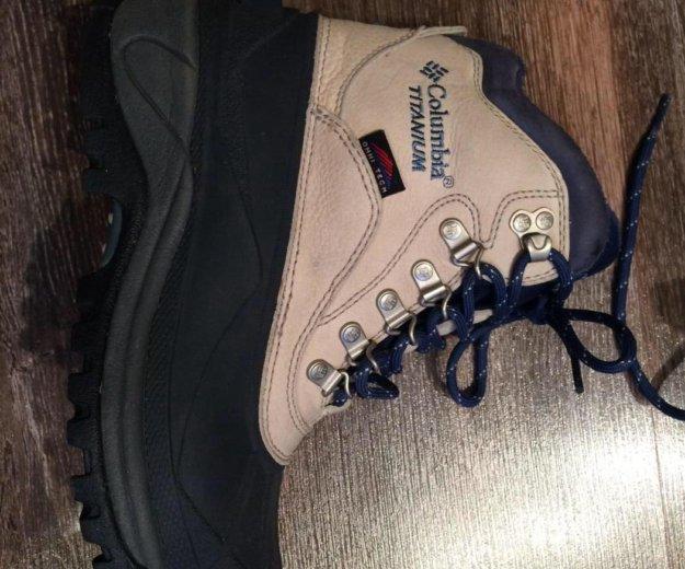 Columbia titanium зимние ботинки. Фото 2. Красноярск.