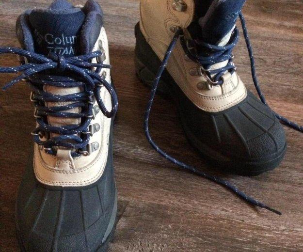 Columbia titanium зимние ботинки. Фото 4. Красноярск.