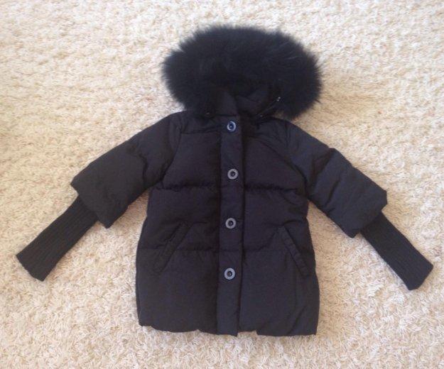 Gulliver пуховая курточка р128-134. Фото 3.