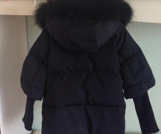 Gulliver пуховая курточка р128-134. Фото 2.