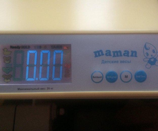 Весы детские maman. Фото 2. Юбилейный.