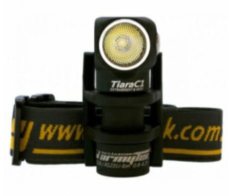 Налобный фонарь armytek tiara c1 белый диод xm-l2. Фото 4. Уфа.