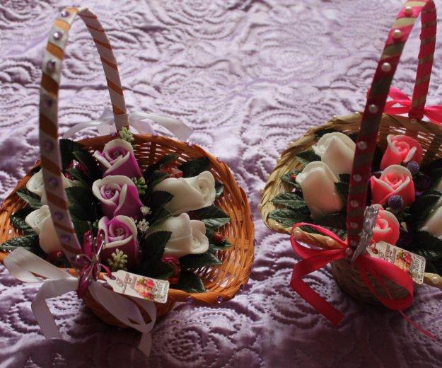 Корзины с цветами из мыла. Фото 4. Ульяновск.