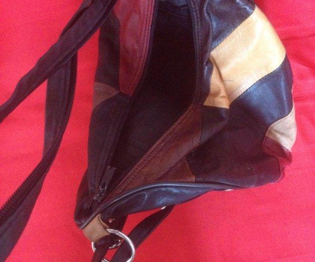 Кожаный рюкзак. Фото 2. Михайловск.