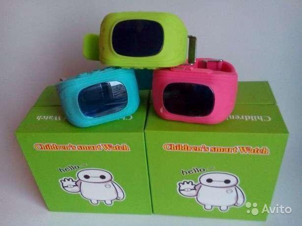 Детские умные часы с gps  smart baby watch q50. Фото 3. Уфа.