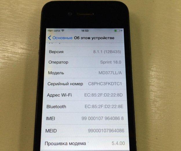Продам iphone 4s 16гб. Фото 4. Владивосток.