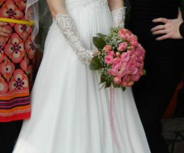 Свадебное платье рр.42-46. Фото 1. Уфа.