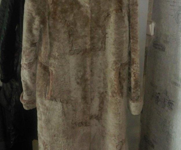 Шуба мутон, размер 46-48.. Фото 1. Усть-Кут.