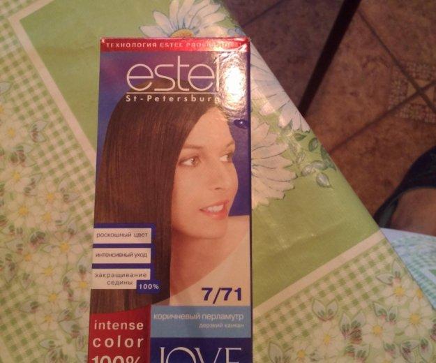 Краска для волос.коричневый перламутр.estel.новая. Фото 1. Саратов.
