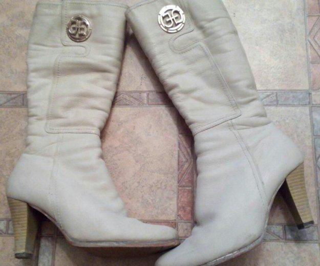 Зимние сапоги 38 размер. Фото 1. Тюмень.