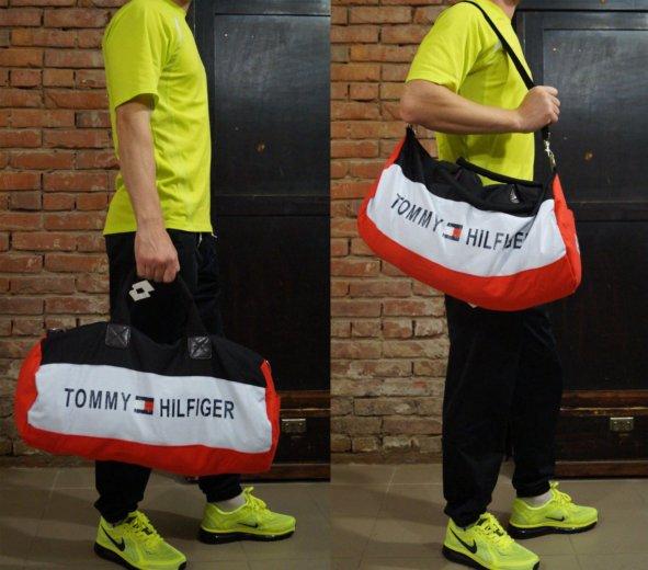 Продам модную спортивную сумку tommy hilfiger. Фото 3. Пермь.