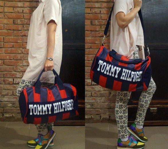 Продам модную спортивную сумку tommy hilfiger. Фото 1. Пермь.