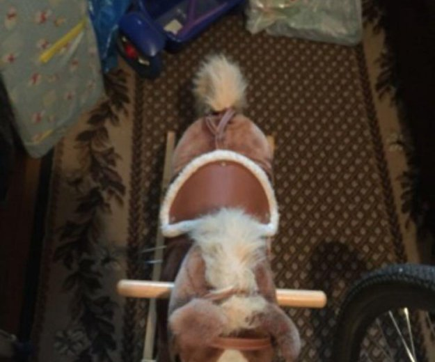 Качалка лошадь. Фото 1. Москва.