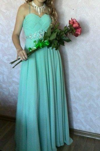 Выпускное платье в пол. Фото 1. Владивосток.
