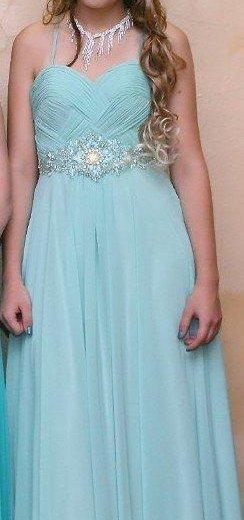 Выпускное платье в пол. Фото 2. Владивосток.