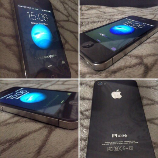Продам iphone apple 4s. Фото 1.