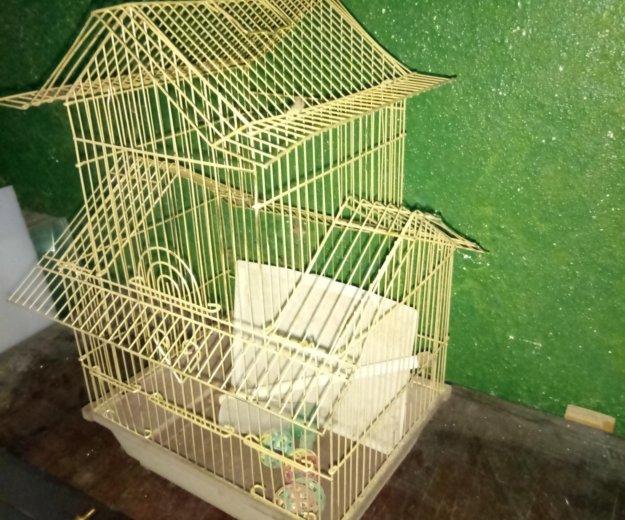 Клетка для попугая. Фото 1. Полевской.
