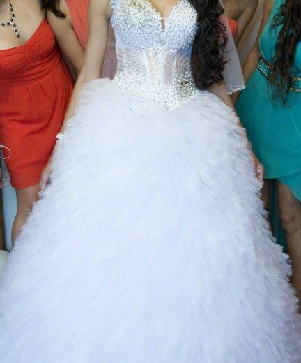 Свадебное платье. Фото 2. Уфа.