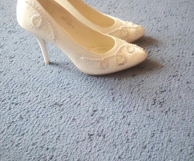 Туфли свадебные. Фото 1. Красноярск.