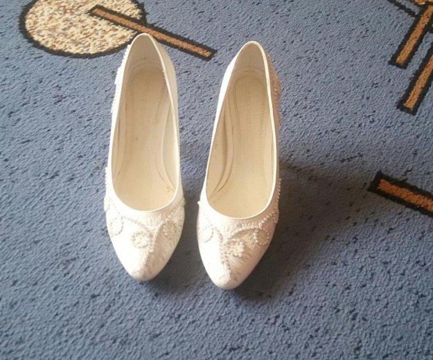 Туфли свадебные. Фото 2. Красноярск.