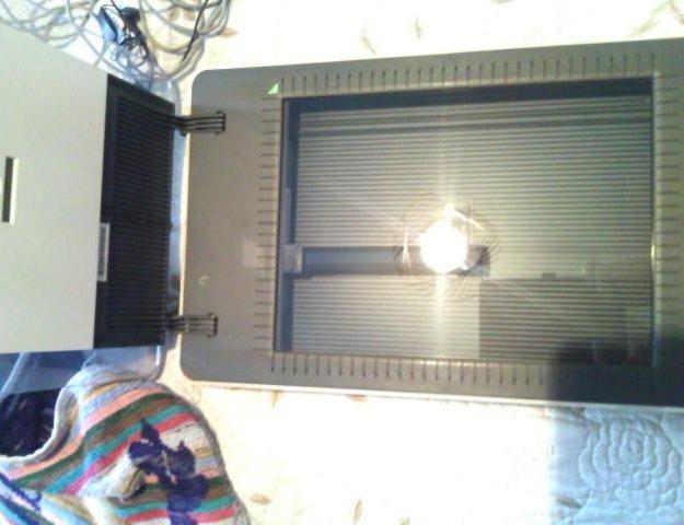 Принтер и сканер. Фото 4.