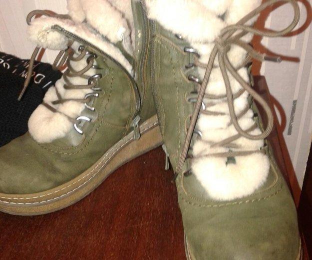 Ботинки натур.зимние. Фото 1. Ковров.