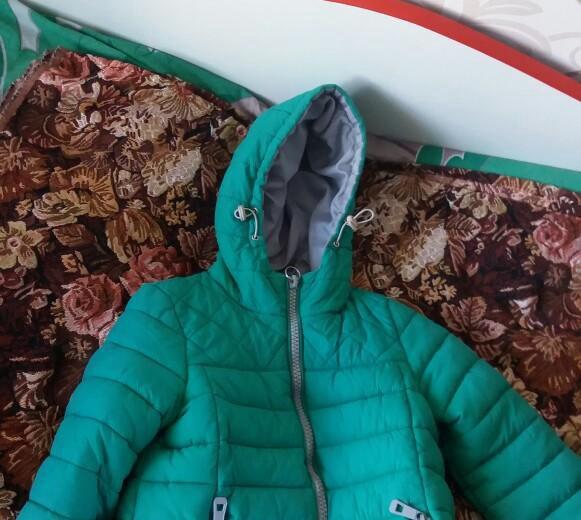 Куртка на рост 110. Фото 1. Янтарный.