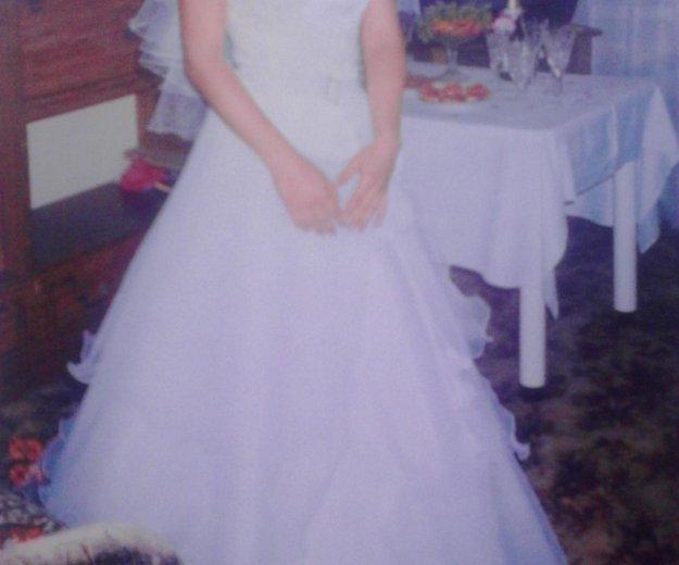 Продам  красивое свадебное платье. Фото 1. Черногорск.