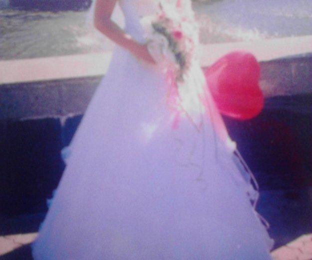 Продам  красивое свадебное платье. Фото 2. Черногорск.