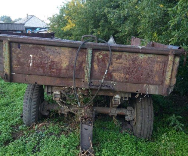 Телега на трактор. Фото 1. Новый Городок.