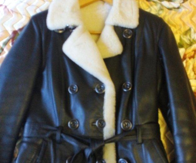 Куртка женская кожанная. Фото 1. Сочи.