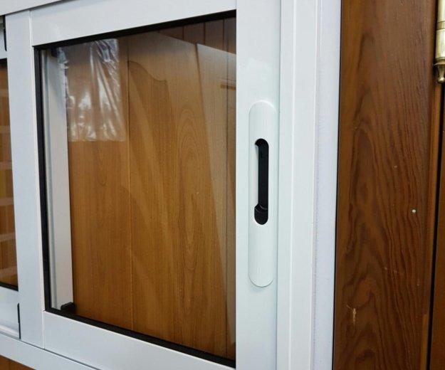 Окна из алюминия. Фото 1. Хотьково.