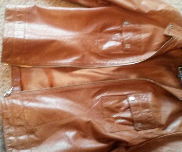 Куртка кожа женская. Фото 1. Каменск-Уральский.