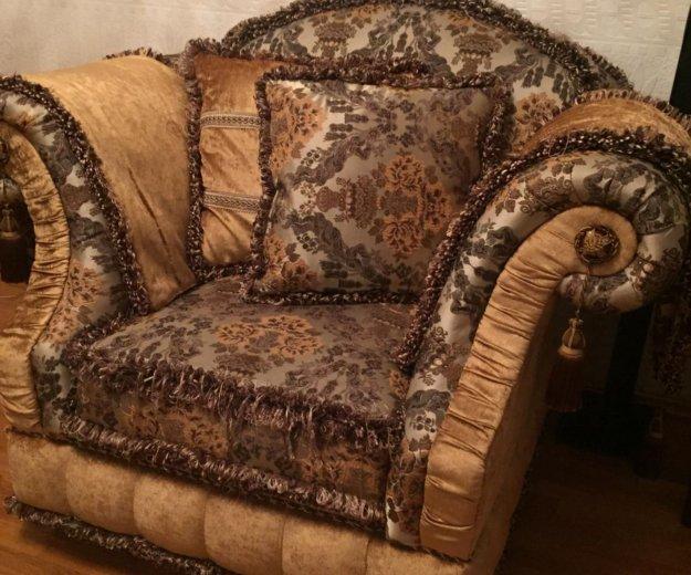 Диван и кресло барокко , прованс. Фото 4. Долгопрудный.
