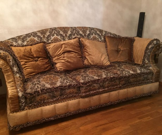 Диван и кресло барокко , прованс. Фото 3. Долгопрудный.