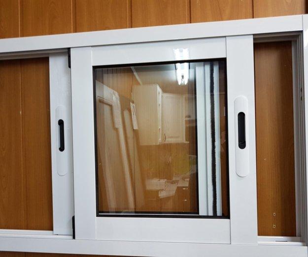 Окна из алюминия. Фото 3. Хотьково.