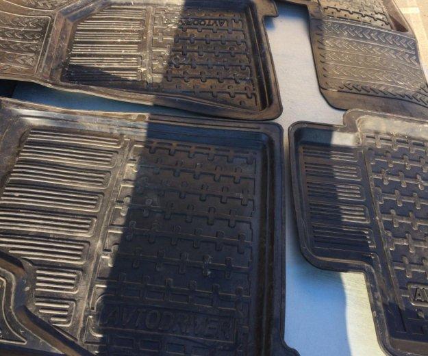 Резиновые коврики avtodriver. Фото 3. Краснодар.