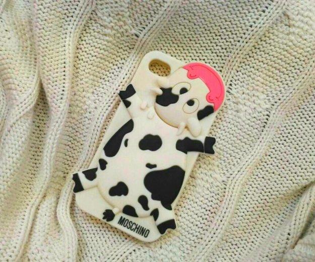 Оригинальный чехол на iphone 4 от moschino. Фото 1.