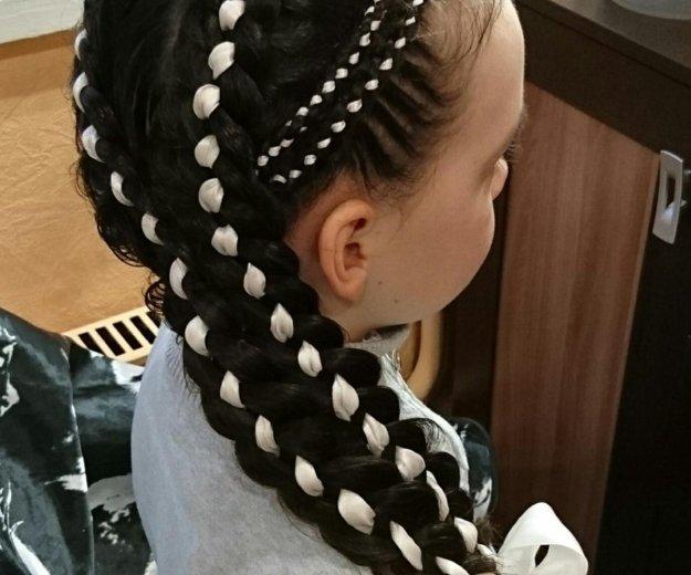 Обучение наращиванию волос, декор.плетениям волос. Фото 2. Норильск.