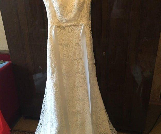 Платье свадебное. Фото 2. Москва.