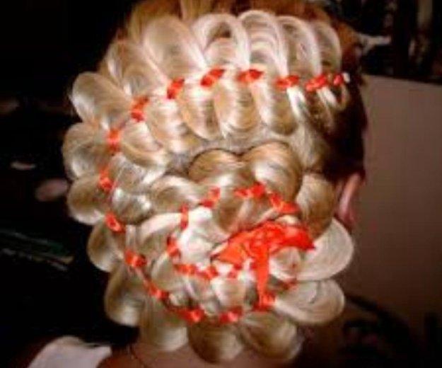 Обучение наращиванию волос, декор.плетениям волос. Фото 3. Норильск.