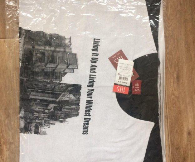 Абсолютно новая хб футболка с длинным рукавом. Фото 1. Красногорск.