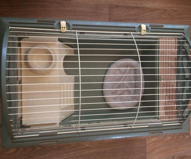 Продам клетку для грызунов(кролики, хорки). Фото 3.