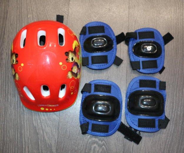 Коньки детские, шлем, налокотники, наколенники. Фото 4. Балахна.