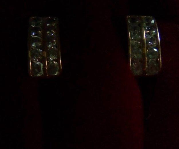 Золотые серги. Фото 2. Саратов.