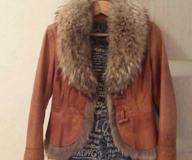 Куртка из натуральной кожи, в идеальном состоянии. Фото 1. Новочебоксарск.
