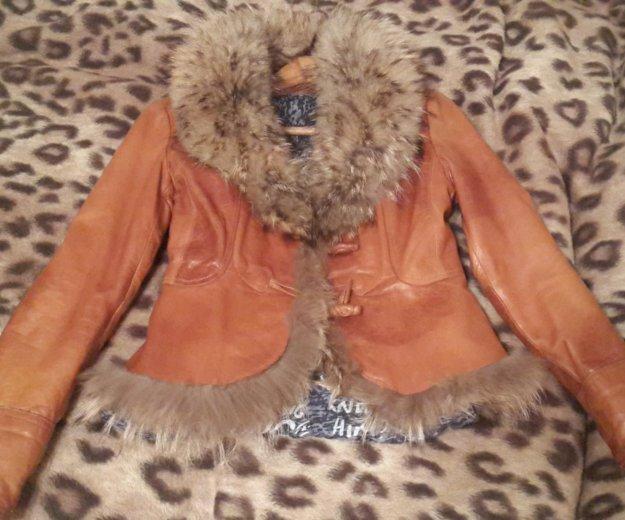 Куртка из натуральной кожи, в идеальном состоянии. Фото 2. Новочебоксарск.