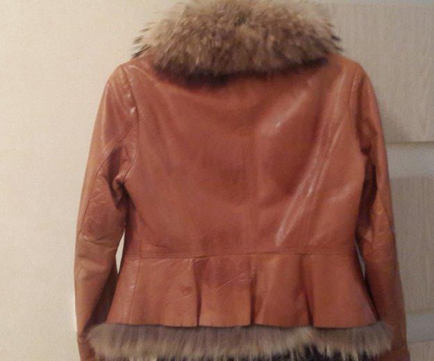 Куртка из натуральной кожи, в идеальном состоянии. Фото 3. Новочебоксарск.