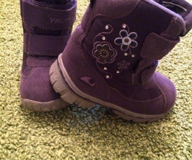 Ботиночки viking princess 22. Фото 1.