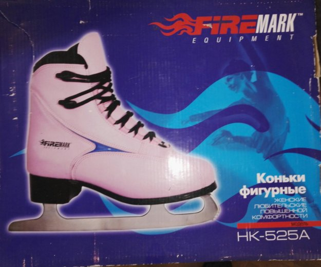 Коньки женские firemark hk-525a, 38 размера. Фото 3. Тольятти.